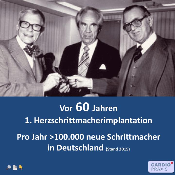 1958: Eine neue Ära der Kardiologie beginnt
