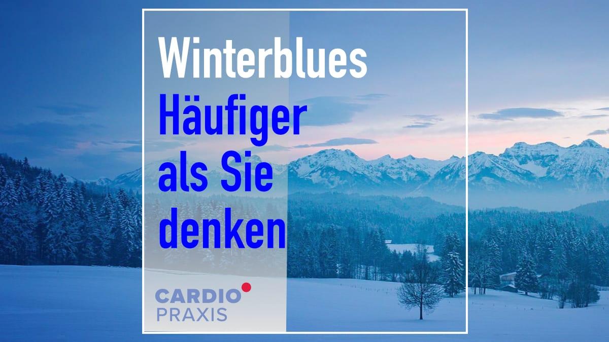 Winterblues - Depressive Symptome im Winter rechtzeitig erkennen!