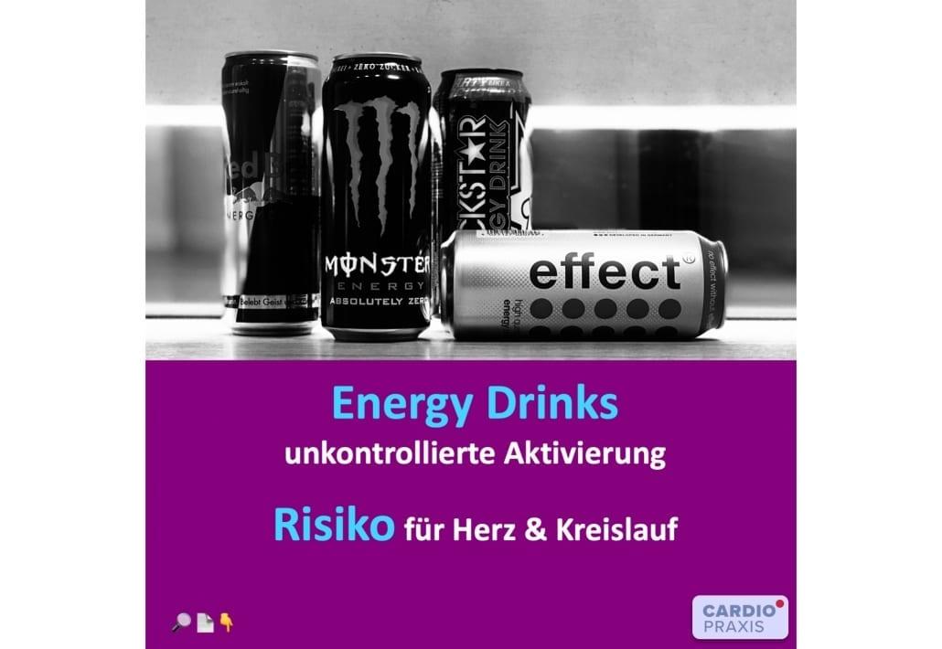 Energy Drinks Risiko Fur Herzinfarkt Und Bluthochdruck Cardiopraxis