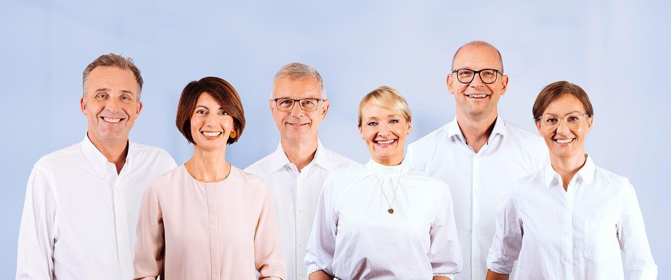 Das Ärzteteam der kardiologischen Facharztpraxis Cardiopraxis in Düsseldorf und Meerbusch