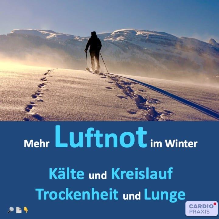 Luftnot im Winter