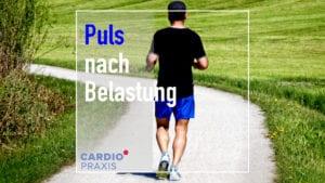 Puls nach Belastung