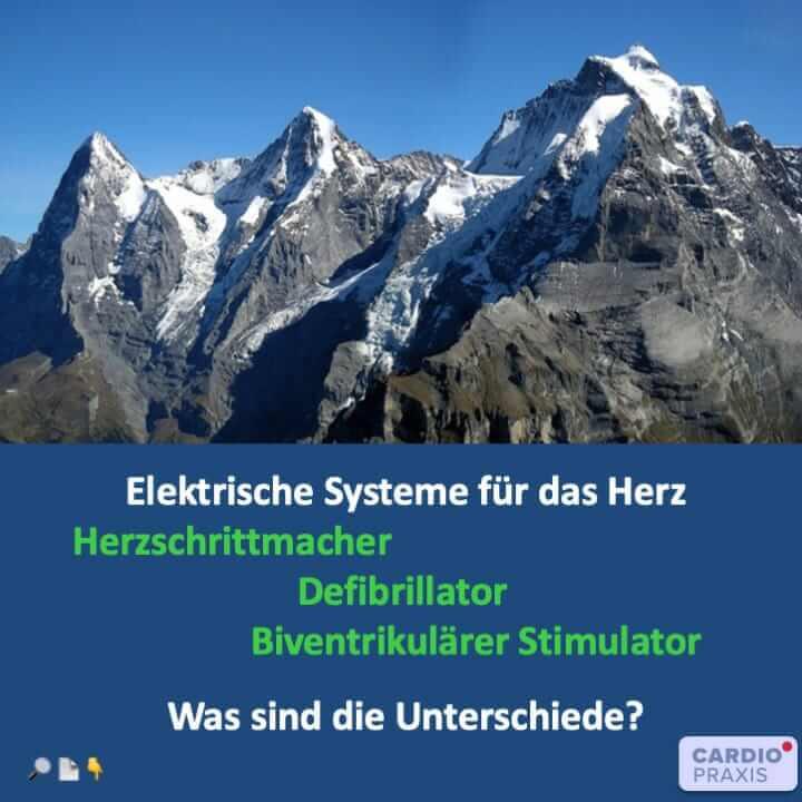 Thumbnail des Artikels Herzschrittmacher und Defibrillator: Verschiedene Einsatzmöglichkeiten